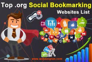 Top Org Social Bookmarking Websites List
