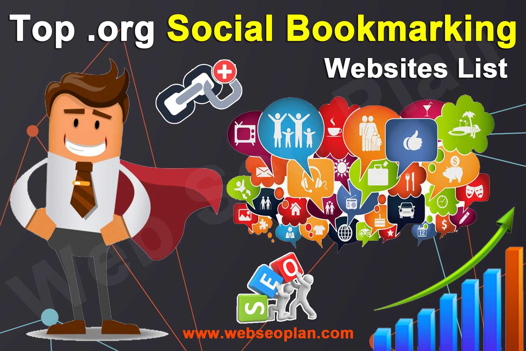 Top Org Social Bookmarking Websites List - Web Seo Plan