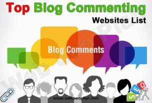 Top Blog Commenting Sites List
