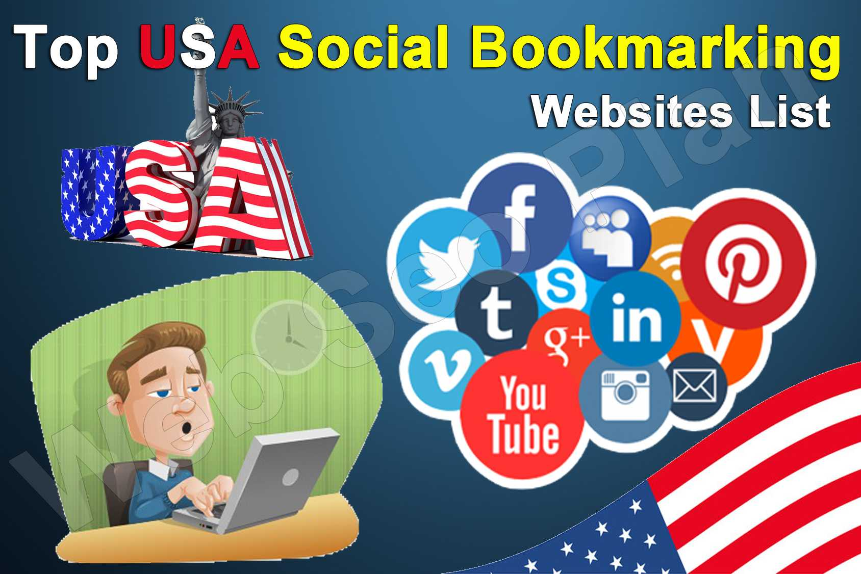 Top 50+ High Pr USA Social Bookmarking Sites List