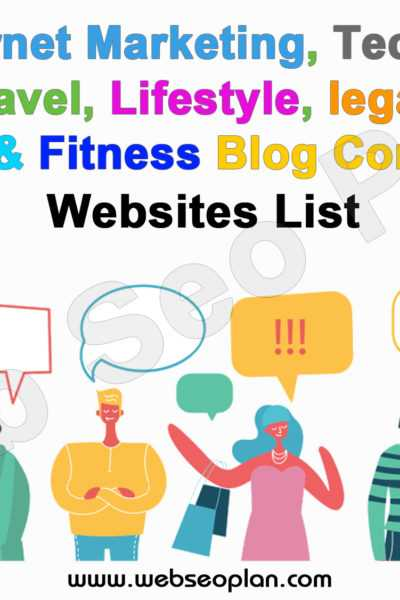 Best Blog Commenting Sites List