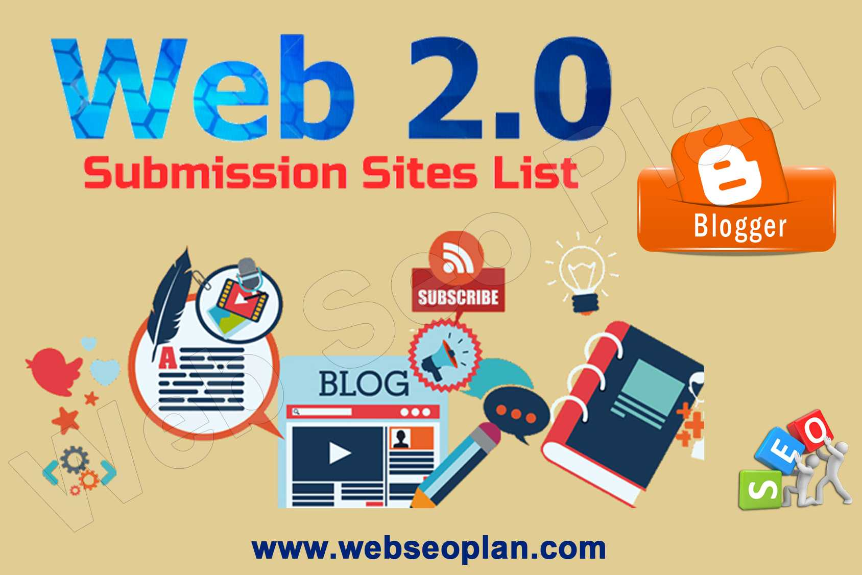 High PR Web 2 0 Submission Sites List