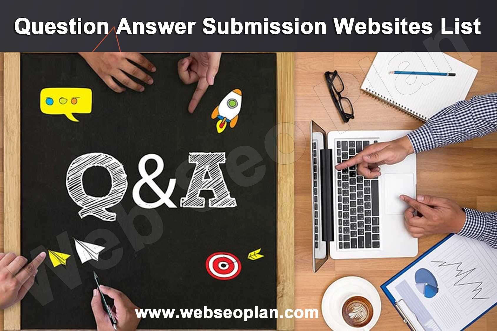 Question Answer Submission sites list