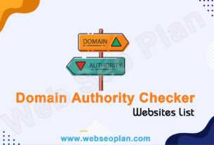 Domain Authority Checker Website List