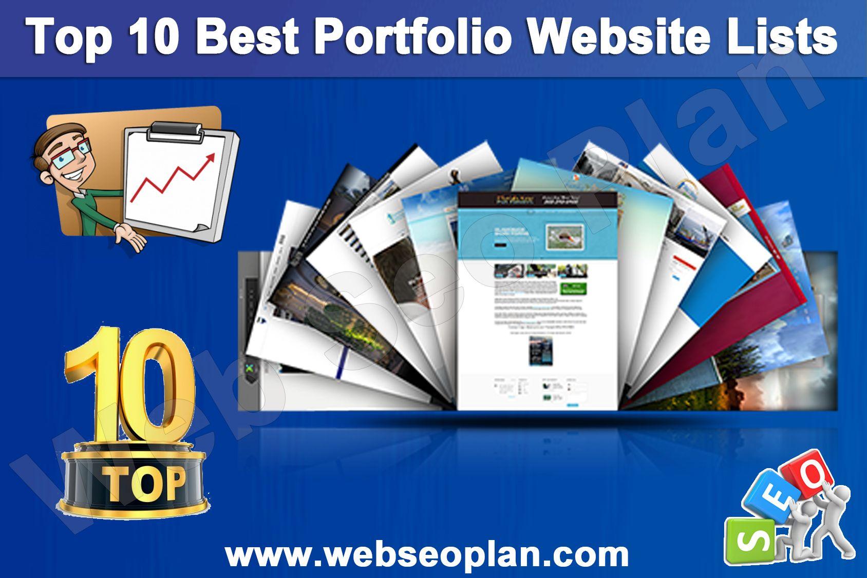 Top 10 Best Portfolio Site Lists