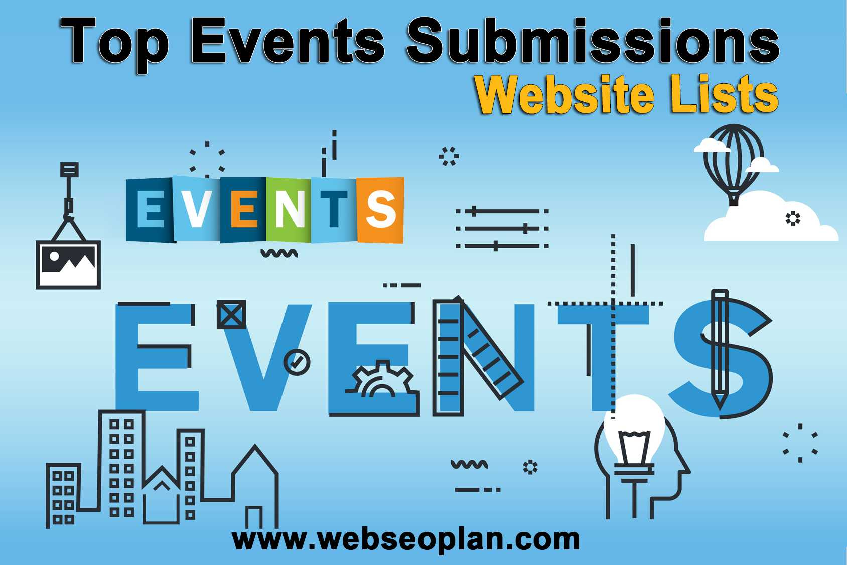 Top Events Submissions Websites Lists