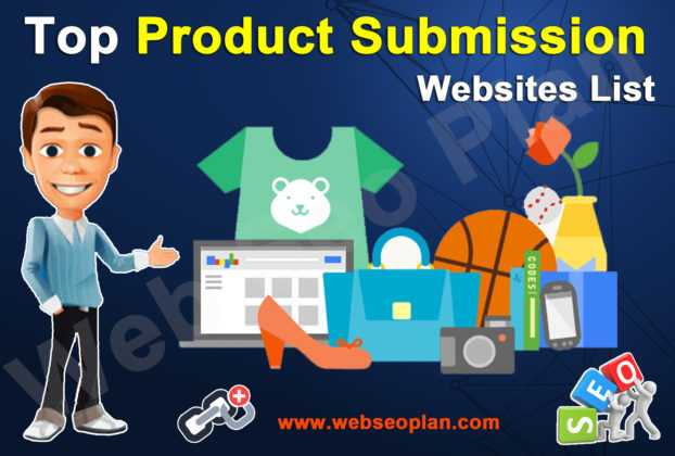 Top Product Submission Site Lists